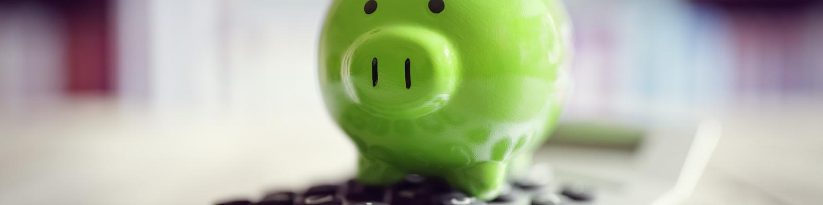 Ken- en kerncijfers van een spaarbank- en verzekeringskantoor