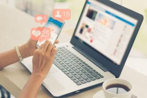 E-marketing:  van commerciële website naar social media