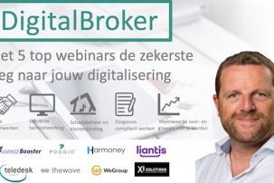 Webinar #Digitalbroker: Meerwaarde voor- en groeien met je klanten