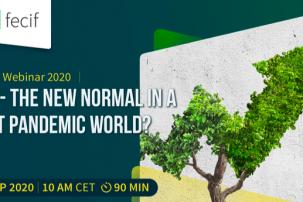 Webinaire FECIF: ESG - la nouvelle normalité dans un monde post-pandémique ?